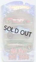 2010 HOLIDAY HOT RODS 3PACK 【FORD SHELBY GR-1 CONCEPT/FORD F-150/PURPLE PASSION WOODIE】 TARGET EXCLUSIVE