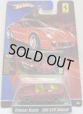 2008 FERRARI RACER 【FERRARI 599 GTB FIORANO】 FLAT RED/A6