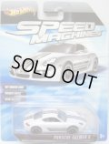 SPEED MACHINES 【PORSCHE CAYMAN S】 WHITE/A6