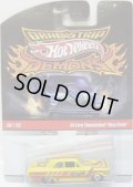 """2010 DRAGSTRIP DEMONS 【'64 FORD THUNDERBOLT """"NAZY CRATE""""】 YELLOW/RR"""