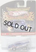 """2010 DRAGSTRIP DEMONS 【'70 PLYMOUTH DUSTER F/C - """"ENGLISH LEATHER MONGOOSE DUSTER""""】 BLUE/RR (手書きのサイン入り)"""