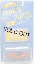 PARK'N PLATES 【80'S CORVETTE (2170)】 RED/HO (ORANGE PLATE)