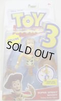 TOY STORY 3 【DELUXE ACTION FIGURE - SUPER SPRINT WOODY (R7162/T0463)】 (国内流通版)