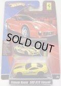 2008 FERRARI RACER 【FERRARI 599 GTB FIORANO】 YELLOW/A6