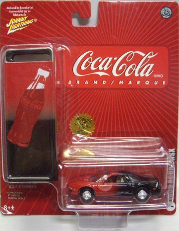 2005 Acura  on 2005 Johnny Lightning   Coca Cola    1995 Acura Nsx    Red Black Rr