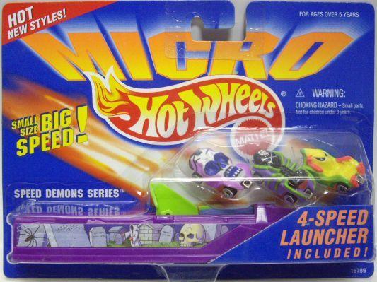 hot wheels micro: