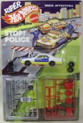 1/43 MATTEL ITALY EXCLUSIVE SUPER HOT WHEELS STOP POLICE 【MERCEDES POLIZIA】 WHITE