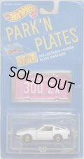 PARK'N PLATES 【NISSAN 300ZX (2140)】 WHITE/HO (PINK PLATE)