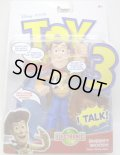 TOY STORY 3 【DELUXE TALKING FIGURE - SHERIFF WOODY (T7210/T2121)】 (国内流通版)