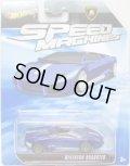 2010 SPEED MACHINES 【(LAMBORGHINI) REVENTON ROADSTER】 MET.BLUE/A6