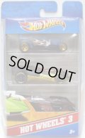 2012 HOT WHEELS 3 【MIDNIGHT OTTO/CUL8R/SHREDSTER】