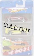 2012 HOT WHEELS 3 【CADILLAC CIEN/'99 MUSTANG/SILHOUETTE II】