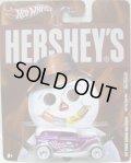 2011 NOSTALGIC BRANDS - HERSHEY'S 【'34 FORD SEDAN DELIVERY】 PURPLE-WHITE/RR (GOOD&PLENTY)