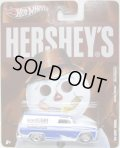 2011 NOSTALGIC BRANDS - HERSHEY'S 【'64 GMC PANEL】 WHITE-BLUE/RR (HERSHEY'S)