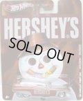2011 NOSTALGIC BRANDS - HERSHEY'S 【'59 CADILLAC FUNNY CAR】 CHOCOLATE/RR (HERSHEY'S)