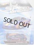SPEED MACHINES 【'96 McLAREN F1 GTR】 BLUE-ORANGE/A6