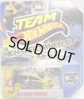 TEAM HOT WHEELS 【'12 FORD FIESTA】 YELLOW-BLACK/YELLOW HSW