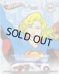2012 NOSTALGIC BRANDS - DC COMIC 2 【'38 DODGE AIRFLOW】 WHITE-BLUE/RR (SUPERGIRL)
