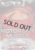 2004 AUTO AFFINITY - MOTOR CITY MUSCLE 【DODGE DART】 RED/RR
