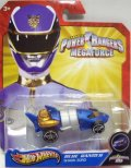 2013 POWER RANGERS 【BLUE RANGER SHARK ZORD】 FLAT BLUE/O5