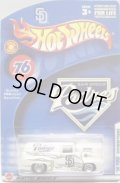 2005 MLB EXCLUSIVE 【'56 FORD (SAN DIEGO PADRES)】 WHITE/RR