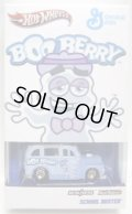 "2012 HWC SPECIAL EDITION 【""BOO BERRY"" SCHOOL BUSTED】 GHOSTLY BLUE/RR"