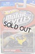 2012 MOTOR CYCLES 【DUCATI 1098R】 YELLOW