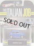 2013 RETRO ENTERTAINMENT 【MORRIS MINI】 BLUE/RR (THE ITALIAN JOB)