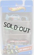 2013 HOT WHEELS 3 【24 SEVEN/'68 NOVA(EX)/'65 CORVETTE(EX)】