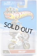 2013 MOTOR CYCLES 【HW 450F】 WHITE (2013 CARD)