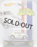 "2014 RETRO ENTERTAINMENT 【VOLKSWAGEN BEETLE ""HERBIE""】 WHITE/RR (THE LOVE BUG)"