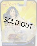 2013 ENTERTAINMENT CHARACTERS 【WONDER WOMAN】 CLEAR RED-CLEAR/O5 (DC COMICS)