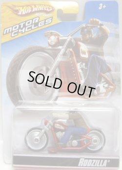 画像1: 2009 MOTOR CYCLES 【RODZILLA】 MET.RED