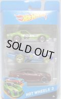 2014 HOT WHEELS 3 【'69 COPO CORVETTE(?)/RD-09(?)/'2010 INFINITI G37(EX)】