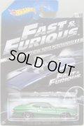 "2014 WALMART EXCLUSIVE ""FAST & FURIOUS"" 【'72 FORD GRAN TORINO SPORT】 MET.GREEN/J5"