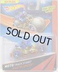 2014 MOTO TRACK STARS 【WASTELANDEER】 BLUE