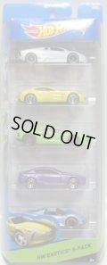 2014 5PACK 【HW EXOTICS】 Lamborghini Reventon / Aston Martin One-77 / Lamborghini Aventador / Aston Martin V8 Vantage / Porsche 918 Spyder