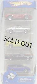2005 5PACK 【DUAL COOL】 '97 Corvette / '68 Mustang / Honda Civic / 1964 Lincoln Continental / Audacious