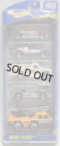 2001 5PACK 【HEAT FLEET】 Oldsmobile Aurora / Police Car / Rescue Ranger / Fire Eater / Flame Stopper