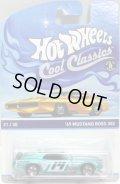 2014 COOL CLASSICS 【'69 MUSTANG BOSS 302】 SPEC.FROST LT.GREEN/RS (台紙のOTTOがオレンジ)