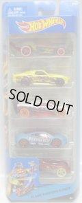 2014 5PACK 【FLAME FIGHTERS】 Tooligan / Blvd. Bruiser / HW Prototype 12 / Mitsubishi Eclipse Concept Car / Eagle Massa