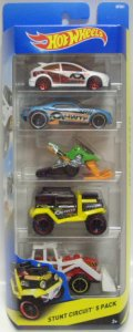 2014 5PACK 【STUNT CIRCUIT】 Ford Focus RS / Bully Goat / Snow Ride / Bad Mudder 2 / Tractor