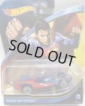 2015 ENTERTAINMENT CHARACTERS 【MAN OF STEEL】 BLUE-RED/NW (DC COMICS)