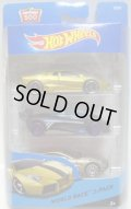 2015 HOT WHEELS 3PACK 【WORLD RACE】 Lamborghini Reventon/Mazda Furai/Aston Martin One-77