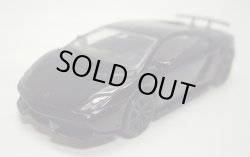 画像1: 1/64 RMZ CITY 【LAMBORGHINI GALLARDO LP570-4 SUPERLEGGERA】 BLACK/RR (PULL BACK)