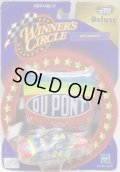 """2000 HASBRO - NASCAR WINNER'S CIRCLE 【""""#24 DU PONT"""" CHEVY MONTE CARLO】 RED-BLUE (with 1/24 HOOD)"""