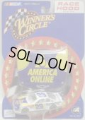 "2002 ACTION - NASCAR WINNER'S CIRCLE 【""#29 AMERICA ONLINE"" CHEVY MONTE CARLO】 WHITE-BLUE(with 1/24 RACE HOOD)"