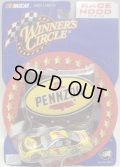 "2002 ACTION - NASCAR WINNER'S CIRCLE 【""#1 PENNZOIL"" CHEVY MONTE CARLO】 YELLOW-BLACK (with 1/24 RACE HOOD)"
