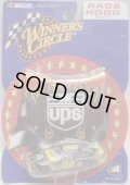 "2002 ACTION - NASCAR WINNER'S CIRCLE 【""#88 UPS"" FORD TAURUS】 BROWN-YELLOW (with 1/24 RACE HOOD)"