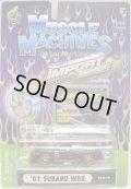 2002 MUSCLE MACHINES - IMPORT TUNER【'01 SUBARU WRX】 BLACK/RR